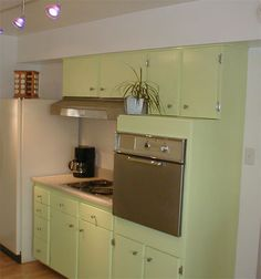 This Small Kitchen Was Updated On A Tight Budget. Existing Kitchen Cabinets  Were Repainted And