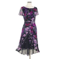 Misses' Midnight Floral Dress - Women's Clothing, Unique Boutique Styles & Classic Wardrobe Essentials