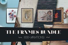 The Frame Bundle on Creative Market #bundle #frame #mockup #premium