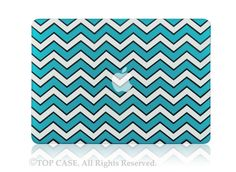 """Green Chevron with Black Outline Hard Case for Macbook PRO 15/"""" Retina A1398"""
