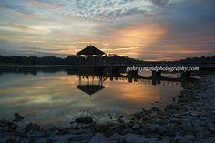 Sunset @ Lower Peirce reservoir - Sunset @ Lower peirce reservoir on 22-09-16,we…
