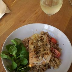 pilaf with baked salmon!!!