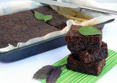 """""""Šalené"""" cuketové brownies"""