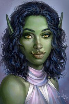 Character Creation, Dungeons And Dragons, Cyberpunk, Princess Zelda, Deviantart, Fantasy, Portrait, Cher, Face