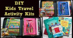 Traveling over Memorial Day weekend? Keep your kids entertained with a DIY travel activity kit