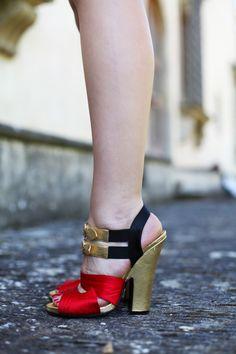 #fashion #shoes sandali prada