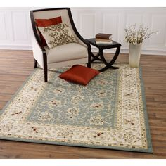 Traditional Persian Patterned Area Rug