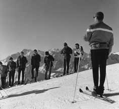 Ski course 1970