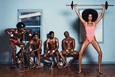 Joan Smalls for Industrie August 2014