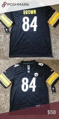 Pittsburgh Steelers Antonio Brown Vapor Jersey Men s Pittsburgh Steelers  Antonio Brown Black Alternate Vapor Limited Jersey 5f8e43d20