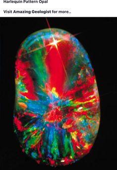 Harrelquin Pattern Opal