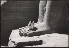 Giant Foot at Abu Simbel (Illustration) - Ancient History Encyclopedia Ancient Artifacts, Ancient Egypt, Ancient History, History Guy, Art History, Egypt Mummy, History Encyclopedia, Art And Architecture, Rock Art