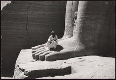 Giant Foot at Abu Simbel (Illustration) - Ancient History Encyclopedia Ancient Artifacts, Ancient Egypt, Ancient History, History Guy, Egypt Mummy, History Encyclopedia, Art And Architecture, Rock Art, Archaeology