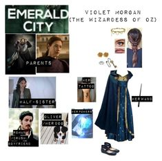 """""""Me in """"Emerald City"""""""" by c-a-marie2000 ❤ liked on Polyvore featuring Avery, Liberty, Jennifer Behr and Jessica Simpson"""