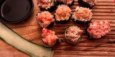 Maki de tartares sans riz! Keto cétogène - Vive le bacon! Bacon, Filets, Grains, Sandwiches, Pizza, Rice, Keto, Articles, Tartarus