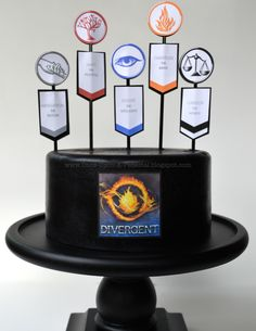 Once Upon A Pedestal: Surprise Inside Cake - Hidden DIVERGENT Factions with Template
