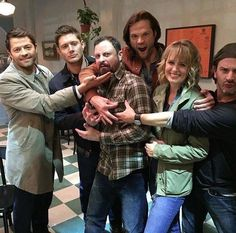 Donavon Stinson talks 'Supernatural' and being friends with Jensen Ackles Castiel, Supernatural Destiel, Supernatural Bunker, Supernatural Seasons, Mark Sheppard, Winchester Boys, Winchester Brothers, Jared Padalecki, Misha Collins