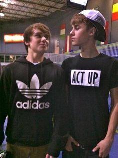 Christian Beadles & Justin Bieber. <3