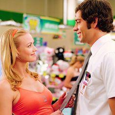 Sarah Walker & Chuck Bartowski (Yvonne Strahovski & Zachary Levi)  Do you believe in love- Huey Lewis and the News