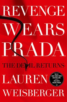 See the cover of 'Revenge Wears Prada', sequel to 'Devil Wears Prada'
