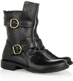 Spotted On Sale! Fiorentini & Baker Eternity Buckled Leather Boots #fashion #style