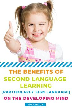The benefits of second language learning on a developing mind is talked about a lot. I think it is self-evident that many, many parents want to give their child any edge they can. There is a lot of evidence (both correlated and tested) that learning a second language is enormously beneficial to mental development, particularly for children. Further given the physical and visual modes of sign language I feel that learning a sign language is particularly beneficial.