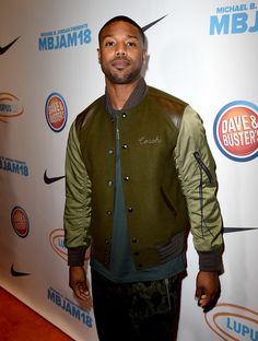 Michael B. Jordan Photos - Actor Michael B. Jordan attends the Michael B. Jordan and Lupus Annual LA event at Dave and Busters on July 2018 in Los Angeles, California. - Michael B. Jordan And Lupus LA Present Annual - Red Carpet Jordans 2018, Michael Bakari Jordan, Jordan Photos, July 28, American Actors, Red Carpet, California, Jackets, Fashion