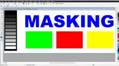 CorelDRAW X6 for Beginners Introduction to Masking in Corel PhotoPaint