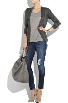 SIMPLE & EASY Looks :: Grays.   #grays #greys #fashion #outfit