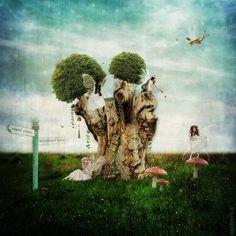 * Faeries Playground IV * #faeries #fae #faerie #fairy #playground #fantasy #surreal #magic #digitalart #art