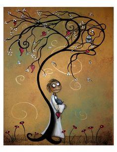 Beautiful Whimsical Art Print