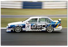 Rickard Rydell. Volvo 850 20v Touring Car. BTCC Silverstone 1995. I always thought this was a great graphics job. Still do!