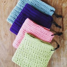 Hæklet karklude,  Crochet, free diy