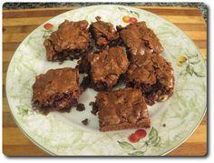 Brownie de nueces y pasas