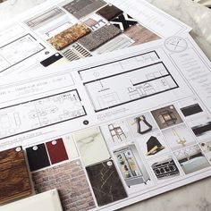 TGIF – Happy to have completed these design boards before the weekend & debating weather my OCD would allow me to fully enjoy the… Interior Design Classes, Interior Design Boards, Interior Design Business, Interior Design Inspiration, Moodboard Interior Design, Interior Design Process, Modern Interior, Interior Architecture, Layout Design