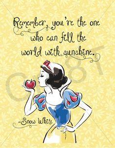 Disney snow white movie quote print by on etsy Cute Disney Quotes, Disney Princess Quotes, Cute Quotes, Arte Disney, Disney Art, Disney Movies, John Green, Snow White Quotes, Snow White Movie