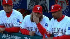 New party member! Tags: rangers aj texas rangers griffin aj griffin stroking beard beard stroke