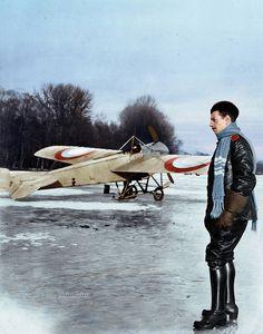 Russian aviator Pyotr Krisanov, winter 1915/16