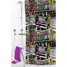 Vallila Shower Curtain, 180 x 200 cm, Multiple Designs