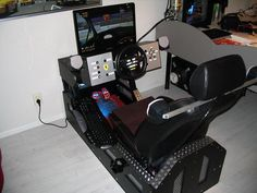 11 Best diy gaming cockpit images in 2014 | Flight simulator cockpit