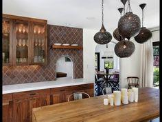 Konyha felújítás marokkói dizájn DIY / Moroccan style kitchen update - YouTube