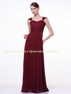 3831 Sleeveless Sweetheart Evening Dress - Burgundy add9271a2