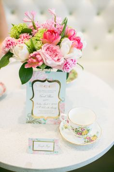 French Tea Inspired Baby Shower