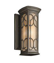 Franceasi 6 Inch Wide 1 Light Outdoor Wall Light