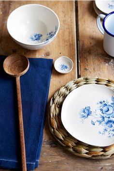 Love blue and white ware! And Rachel Whiting is a great photographer.