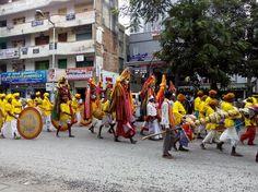 Rajyotsava Procession in Bangalore Photo by Faeez Chaus -- National Geographic Your Shot