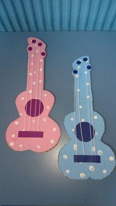 Guitar Great Schools, Cardboard Crafts, Preschool, Guitar, Music, Musica, Preschools, Kinder Garden, Musik