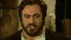 """Luciano Pavarotti - """"La Donna È Mobile"""" (Rigoletto).La donna è mobile è la canzone che il Duca di Mantova (tenore) intona nel terzo ed ultimo atto del Rigoletto di Giuseppe Verdi (1851).  È uno dei brani operistici più popolari, grazie alla sua estrema orecchiabilità e al suo accompagnamento danzante. Si racconta che Verdi ne avesse proibito la diffusione prima dell'andata in scena dell'opera, al Teatro La Fenice di Venezia, per non rovinarne l'effetto."""