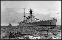 HMS HOOD, REPULSE off Adelaide 1924 - SLSA. | Flickr - Photo Sharing! Hms Hood, Naval History, Military History, World Cruise, Capital Ship, Navy Ships, Submarines, Aircraft Carrier, Royal Navy