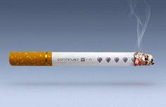 Des cigarettes qui parleront aux geeks
